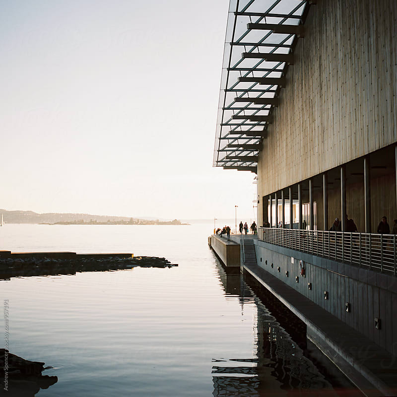Evening by the Fjord by Andrew Spencer for Stocksy United