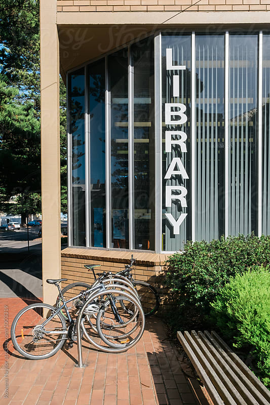 Public Library by Rowena Naylor for Stocksy United