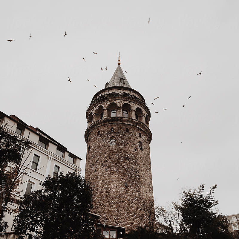 Galata Tower / Istanbul by Paperclip Images for Stocksy United