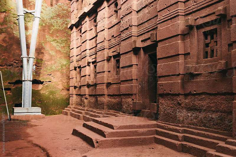 Ethiopian Rock Hewn Church by Agencia for Stocksy United