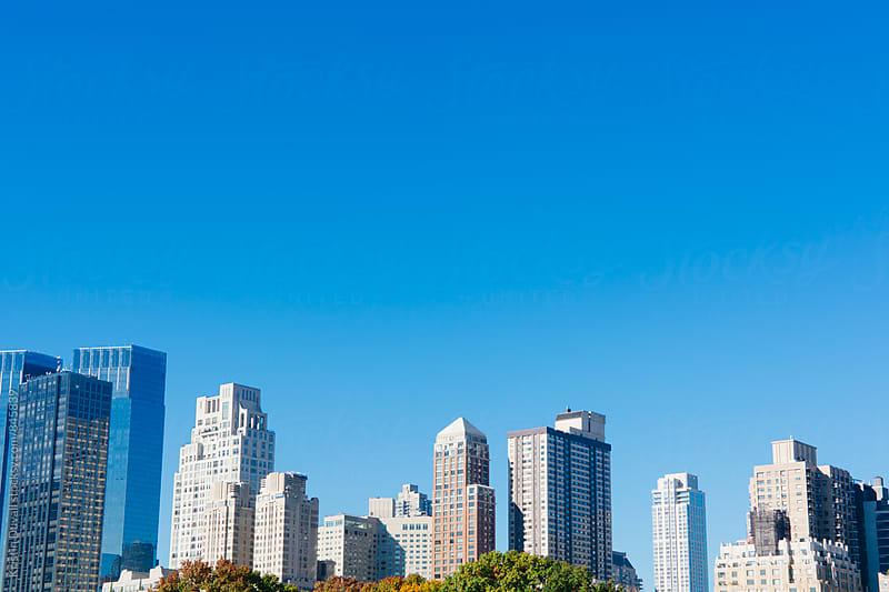 New York City skyline  by Kristin Duvall for Stocksy United