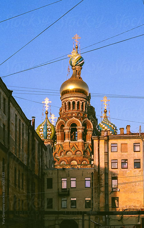 Church of the Savior on Blood B-side by Yury Goryanoy for Stocksy United