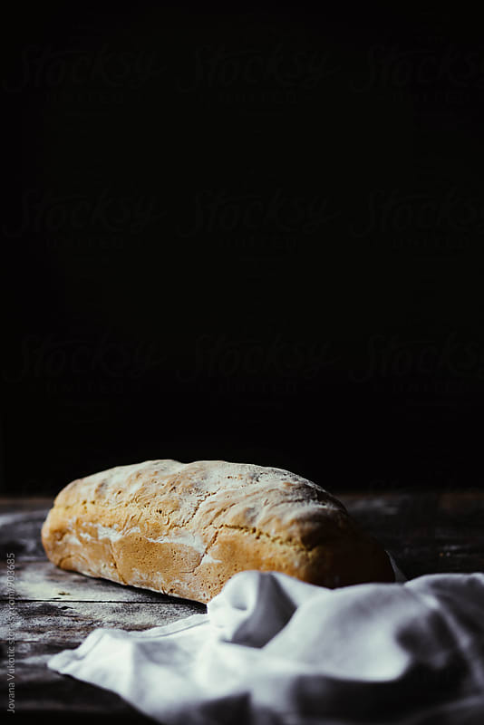 Handmade bread by Jovana Vukotic for Stocksy United