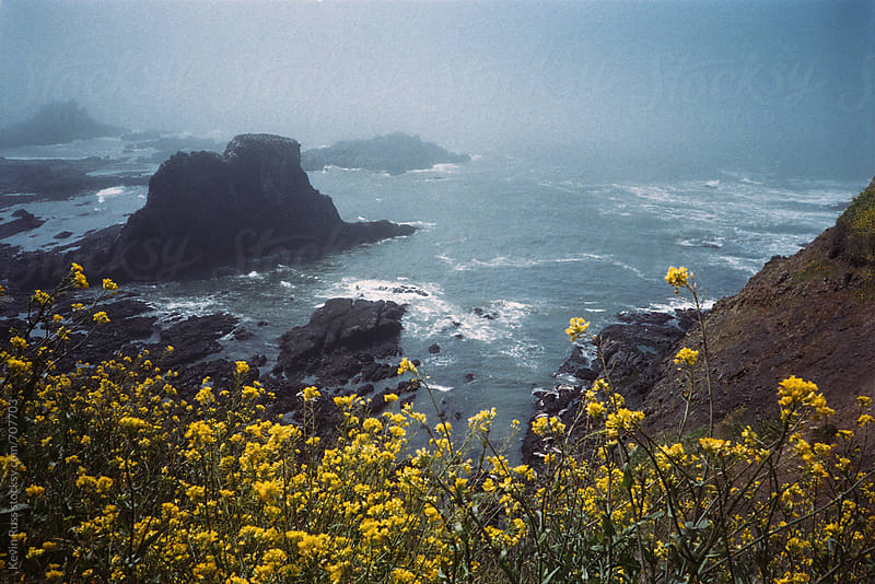 Moody Oregon Coast by Kevin Russ for Stocksy United