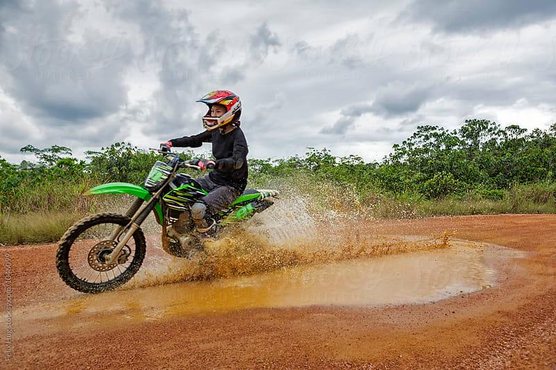 Motocross by Felix Hug for Stocksy United