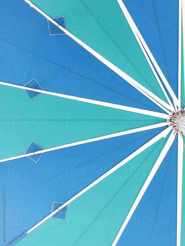 Beach umbrella by Marta Locklear for Stocksy United