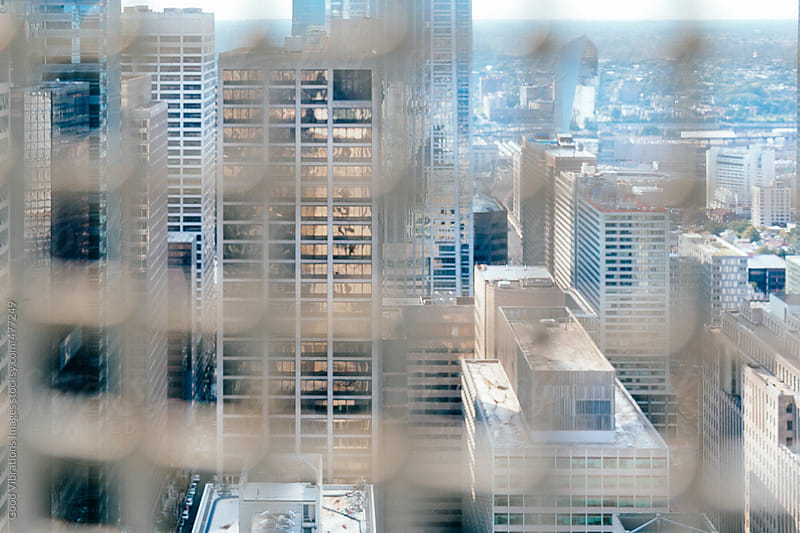 Downtown skycrapers and buildings by Good Vibrations Images for Stocksy United