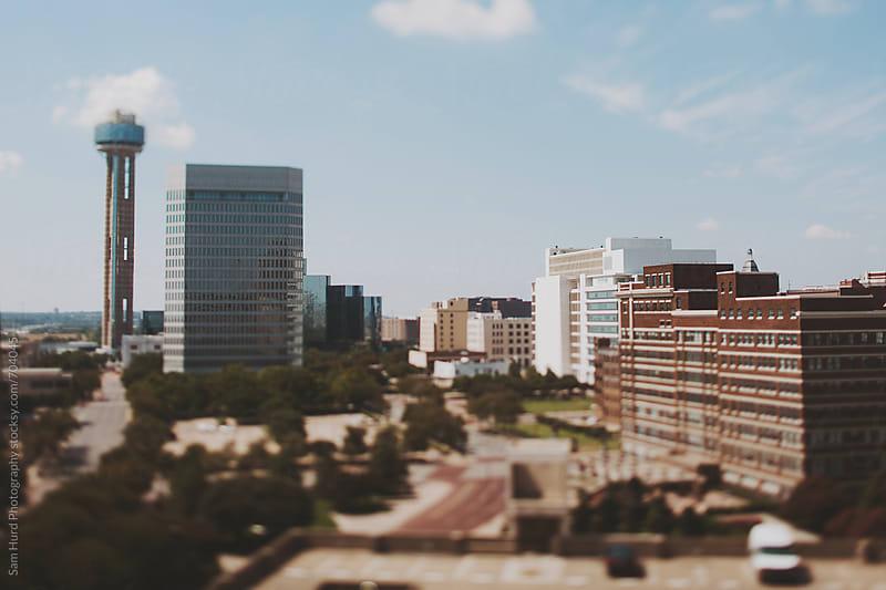 Dallas skyline by Sam Hurd Photography for Stocksy United