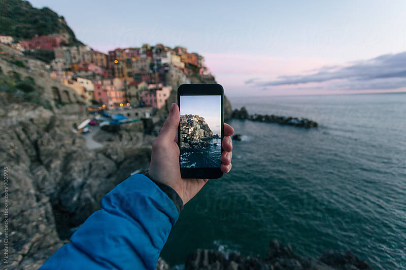 Cinque Terre by Michael Overbeck Photography for Stocksy United