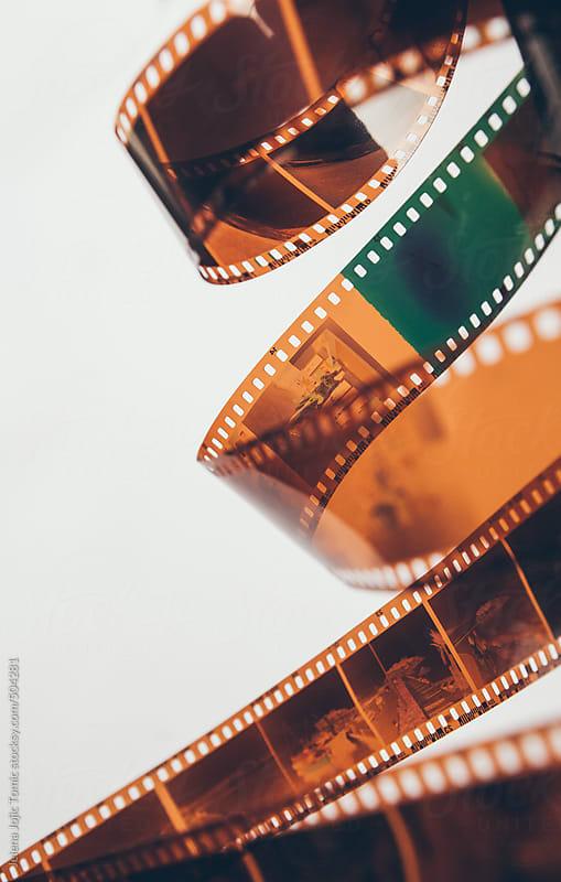 Old, used camera film by Jelena Jojic Tomic for Stocksy United