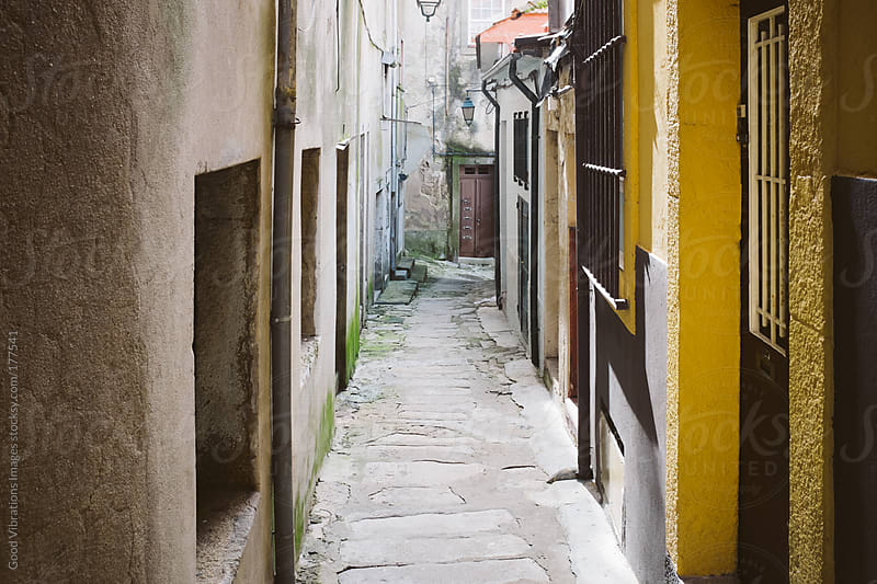 Narrow Alley by Good Vibrations Images for Stocksy United