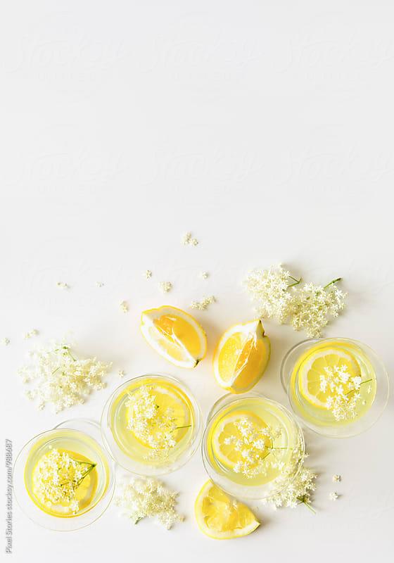 Elderflower lemonade by Pixel Stories for Stocksy United