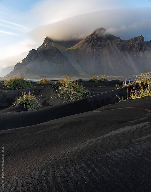 Black sand dunes by Jonatan Hedberg for Stocksy United