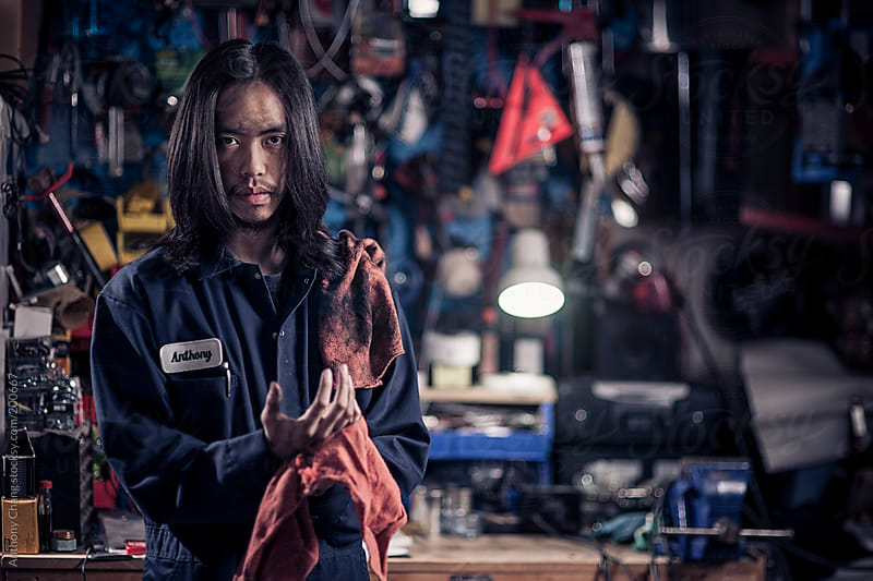 Mechanic by Anthony Chang for Stocksy United