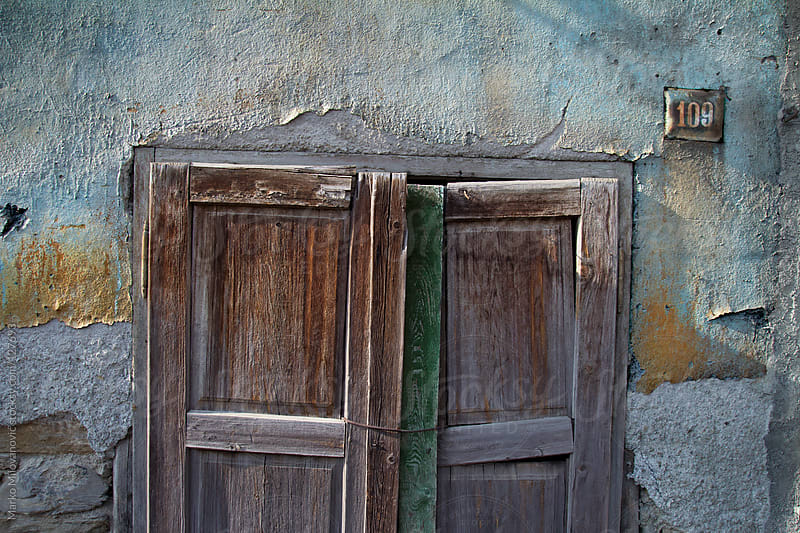 Old door texture, wall by Marko Milovanović for Stocksy United