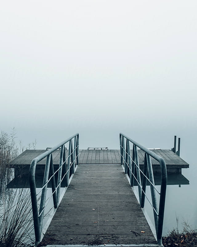 Lake pier by Blue Collectors for Stocksy United