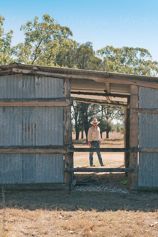 old country shed by Gillian Vann for Stocksy United
