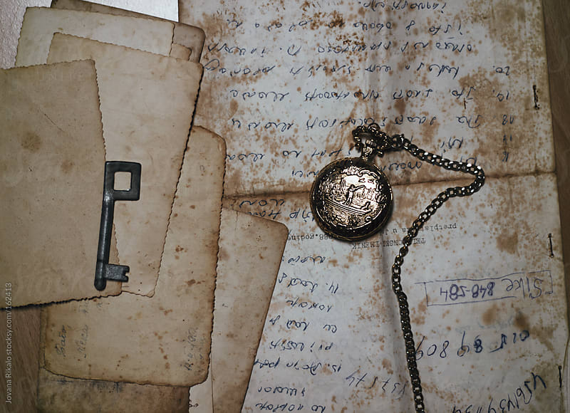 Old letters and photos by Jovana Rikalo for Stocksy United