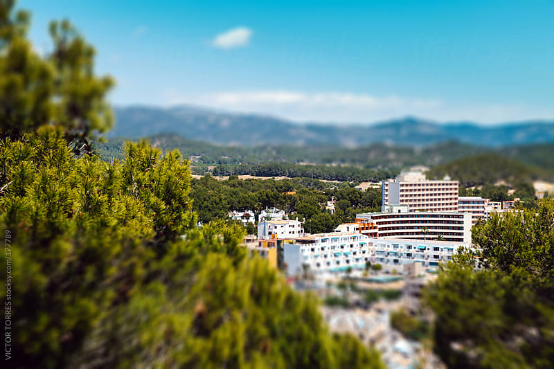 Paguera Village, Majorca by VICTOR TORRES for Stocksy United