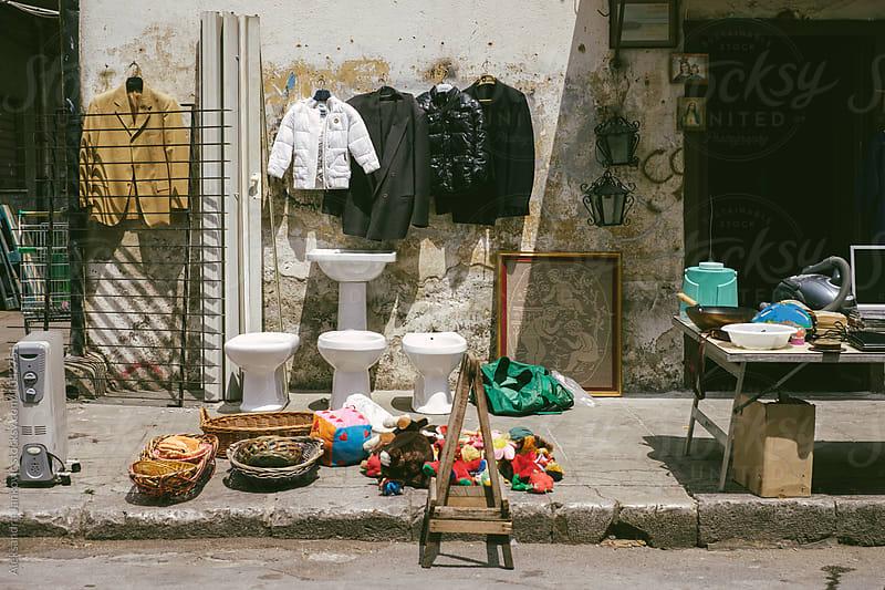 Flee Market in Palermo by Aleksandra Jankovic for Stocksy United