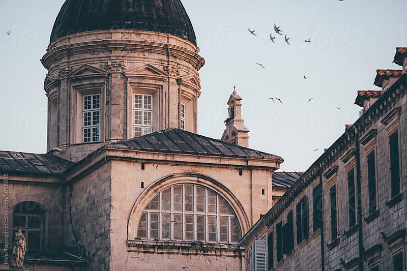 Old city walls in Dubrovnik by Maja Topcagic for Stocksy United