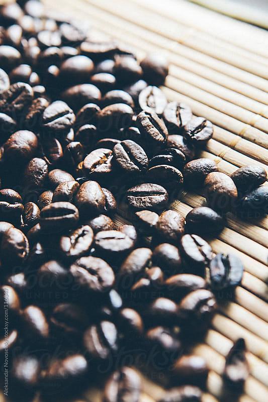 Coffee beans by Aleksandar Novoselski for Stocksy United