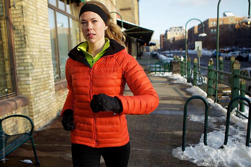 Winter Run by aaronbelford inc for Stocksy United
