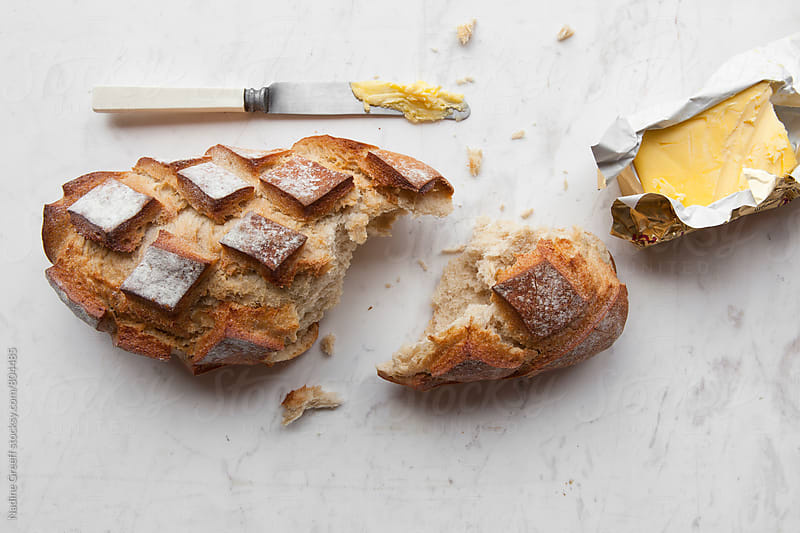 Bread and butter by Nadine Greeff for Stocksy United