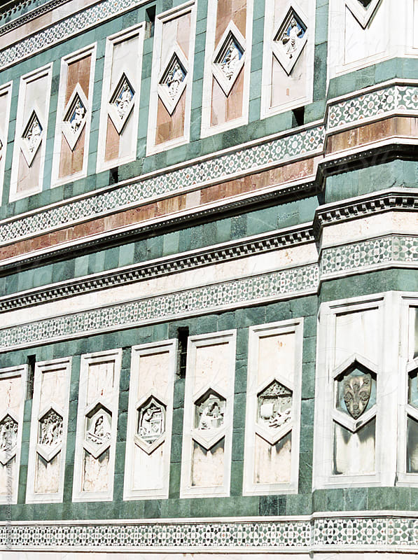 Detail of Florence Cathedral by Kirstin Mckee for Stocksy United