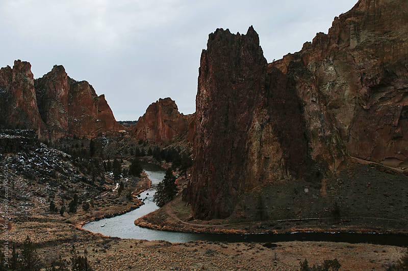 Smith Rock by Kristian Lynae Irey for Stocksy United