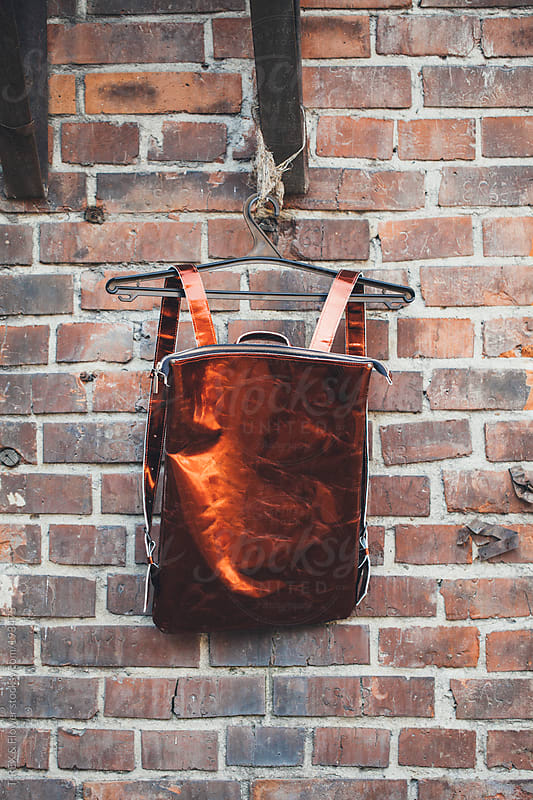 fashionable backpack by T-REX & Flower for Stocksy United