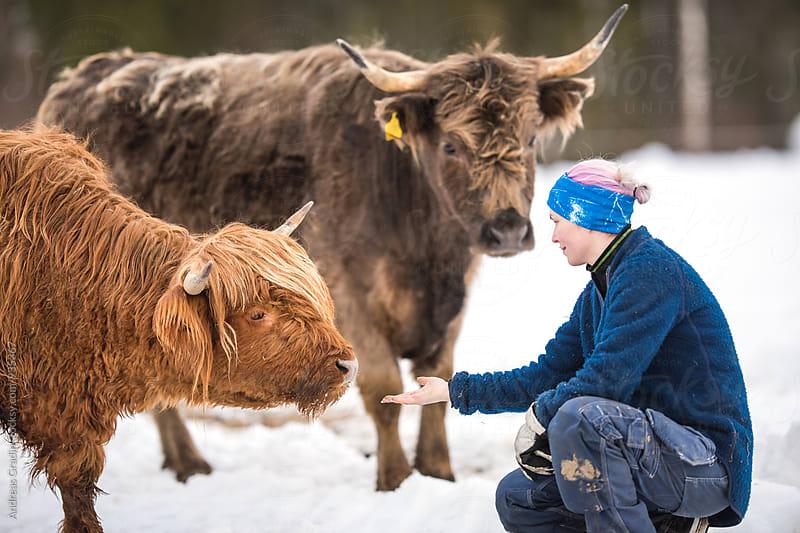 female cattle farmer by Andreas Gradin for Stocksy United