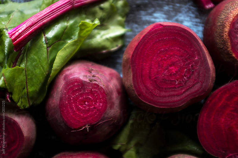 Raw Organic Beets by Jeff Wasserman for Stocksy United