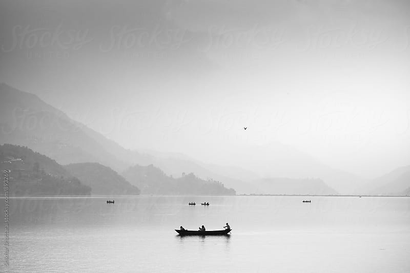Phewa Lake, Pokhara by Shikhar Bhattarai for Stocksy United