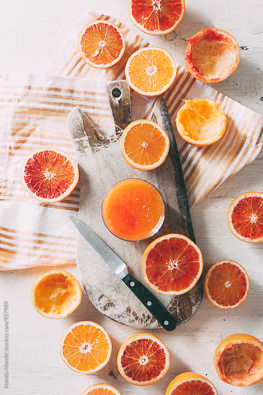 Fresh orange juice by Nataša Mandić for Stocksy United