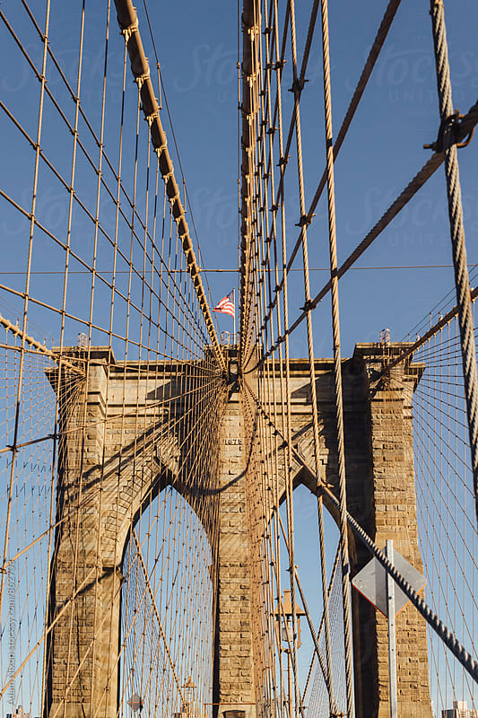 Brooklyn Bridge by Adam Nixon for Stocksy United