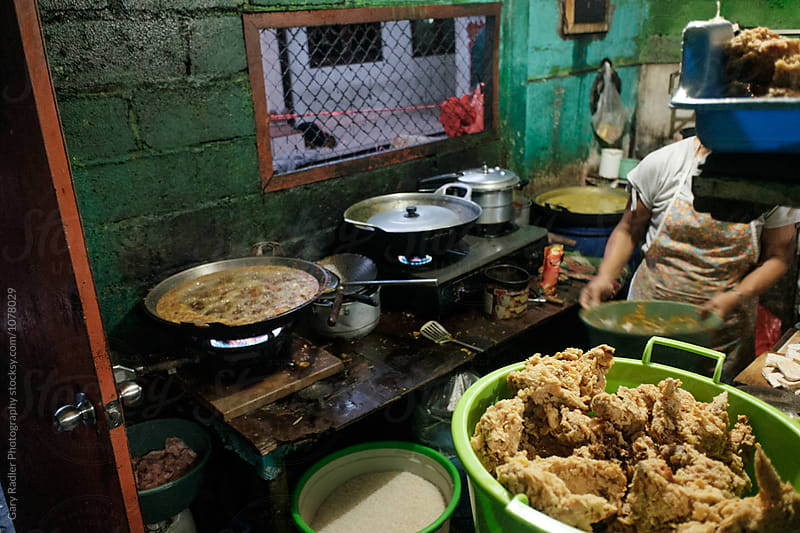 Street Vendor's Kitchen in Seminyak, Bali by Gary Radler Photography for Stocksy United