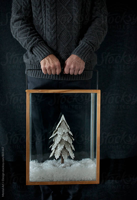 Christmas tree. by Mental Art + Design for Stocksy United