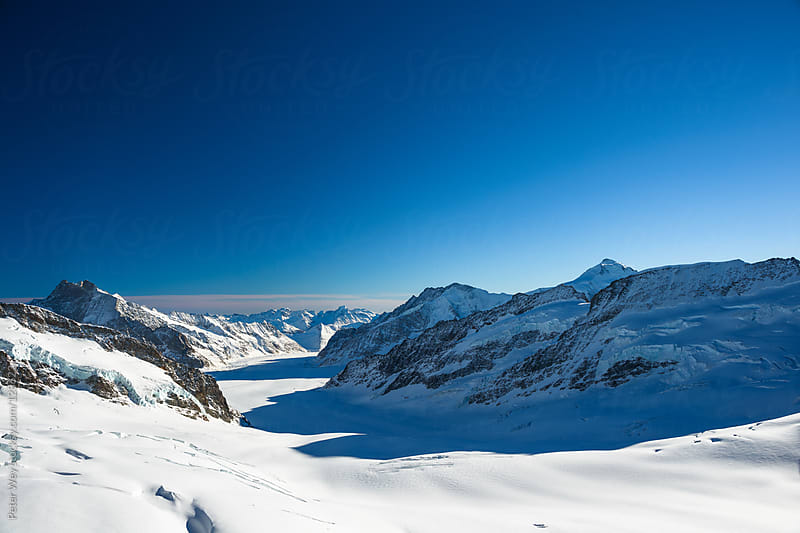 Panoramic from Jungfrau by Peter Wey for Stocksy United