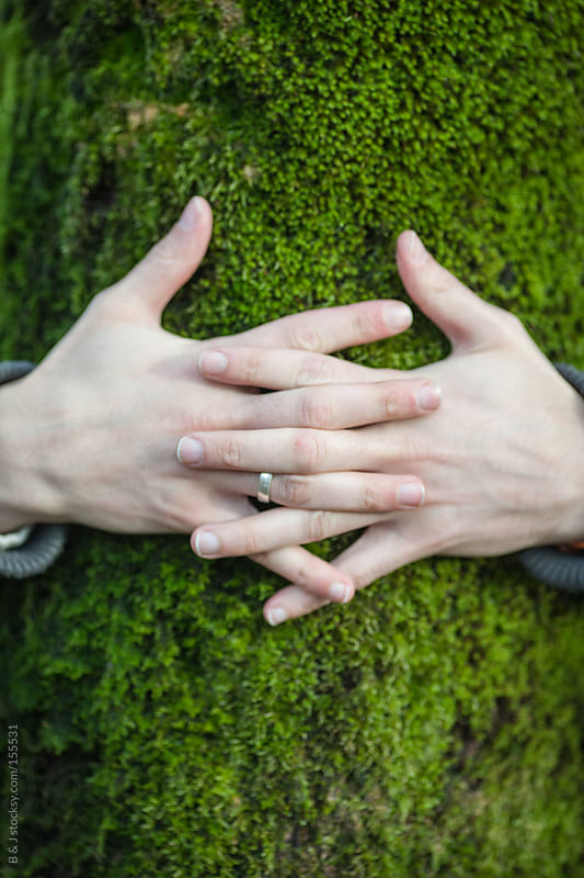 tree hugging by B & J for Stocksy United