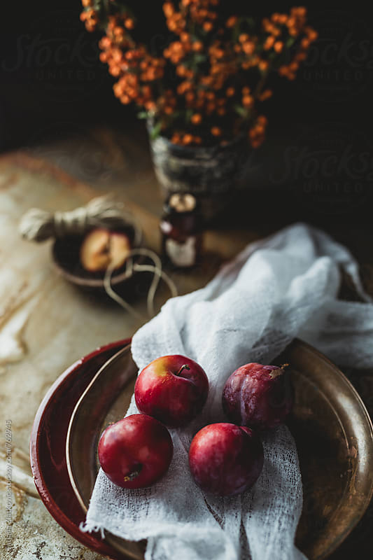 Plums by Tatjana Ristanic for Stocksy United