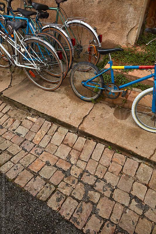 Old bicycles by Bratislav Nadezdic for Stocksy United