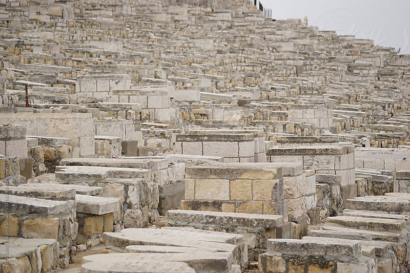 Ancient Cemetery in Israel by B. Harvey for Stocksy United