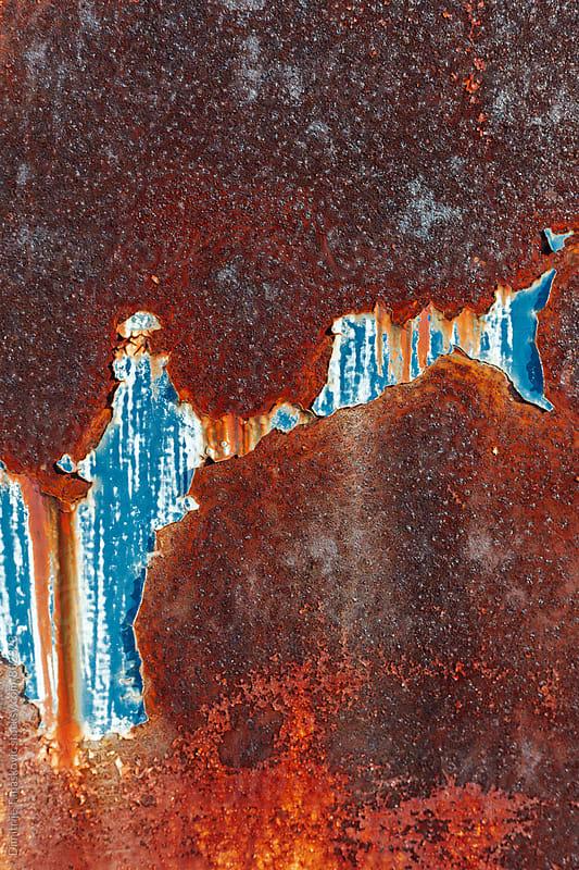 Rusty metal background by Dimitrije Tanaskovic for Stocksy United