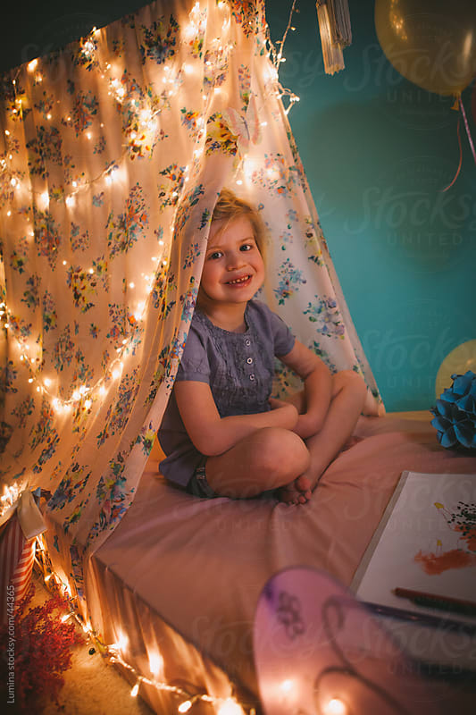 Little Girl's Tent by Lumina for Stocksy United