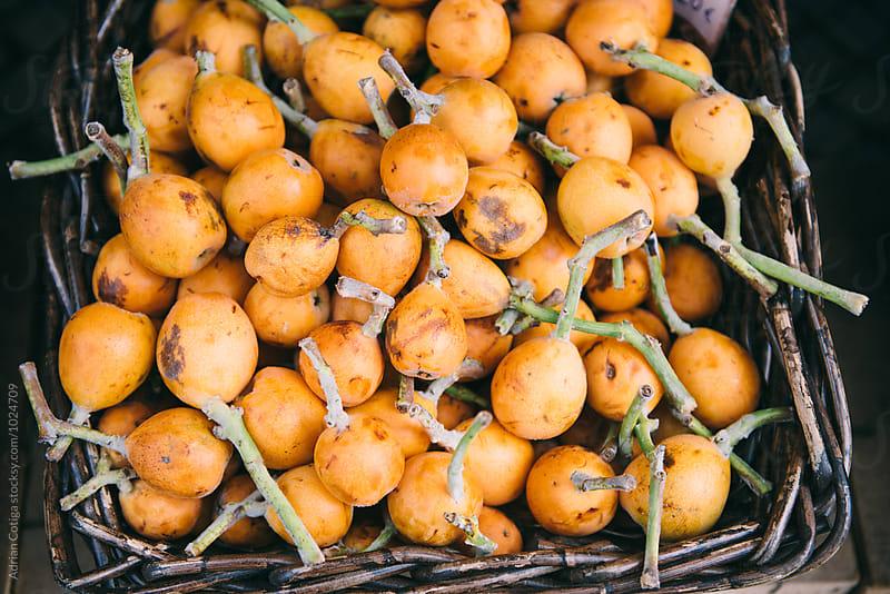 Granadilla delicious tropical fruit by Adrian Cotiga for Stocksy United
