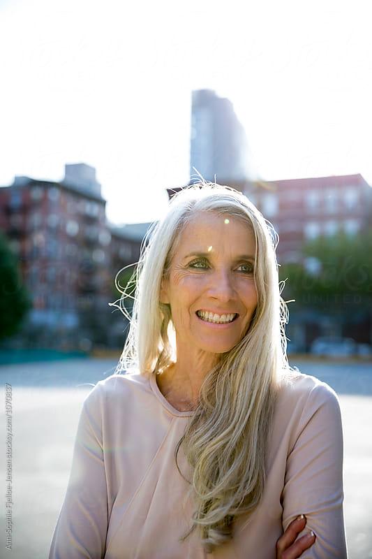 Beautiful elderly woman by Ann-Sophie Fjelloe-Jensen for Stocksy United