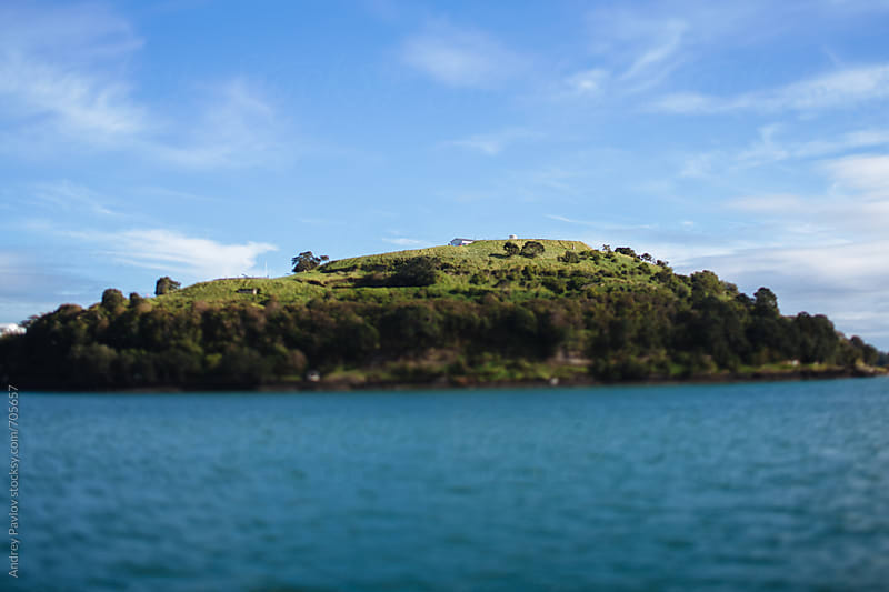 Small secluded island near Auckland, New Zealand by Andrey Pavlov for Stocksy United