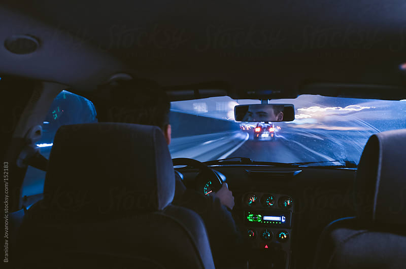 Driving On The Highway by Brkati Krokodil for Stocksy United