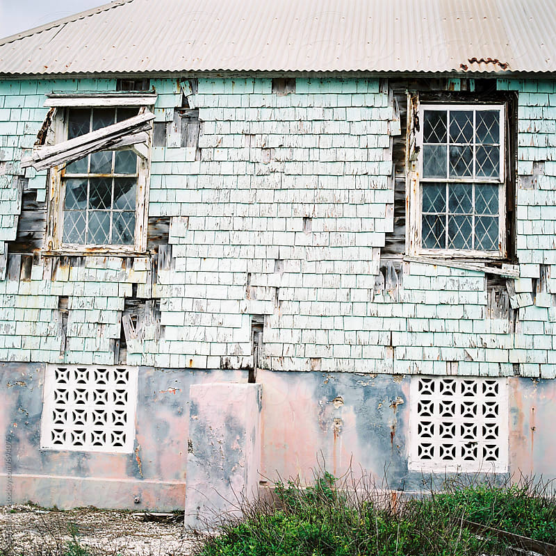 Old building in Barbados by Sam Burton for Stocksy United